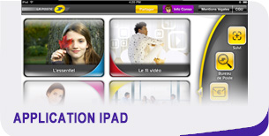 Application iPad