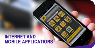 Internet and mobile applications